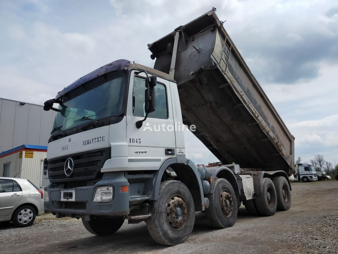 شاحنة قلابة MERCEDES-BENZ Actros 4144