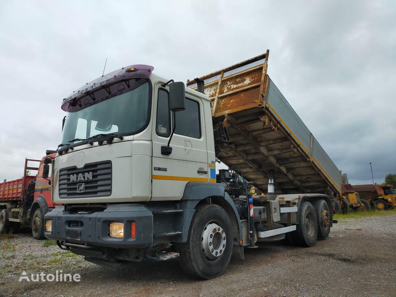 camion-benne MAN 19.364 - 6x2 ///ALL STEEL///