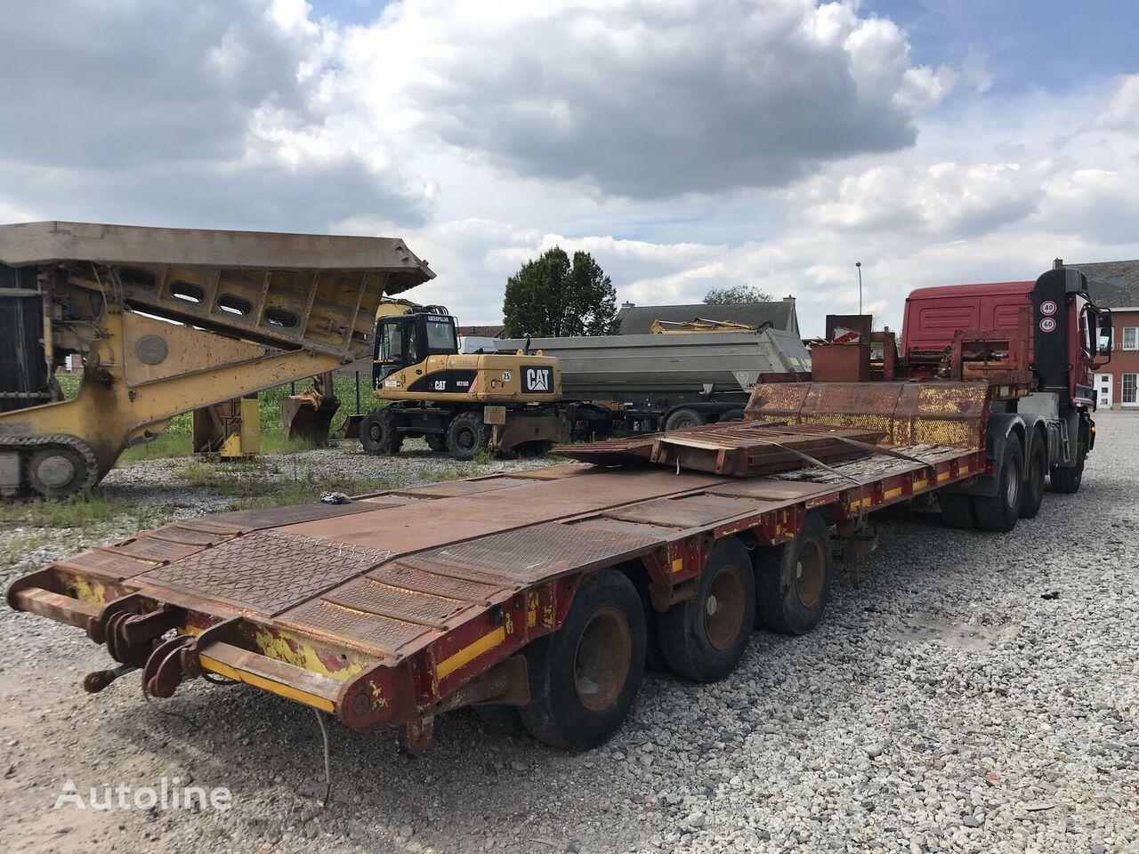 COMETTO GSX 3/MO low bed semi-trailer