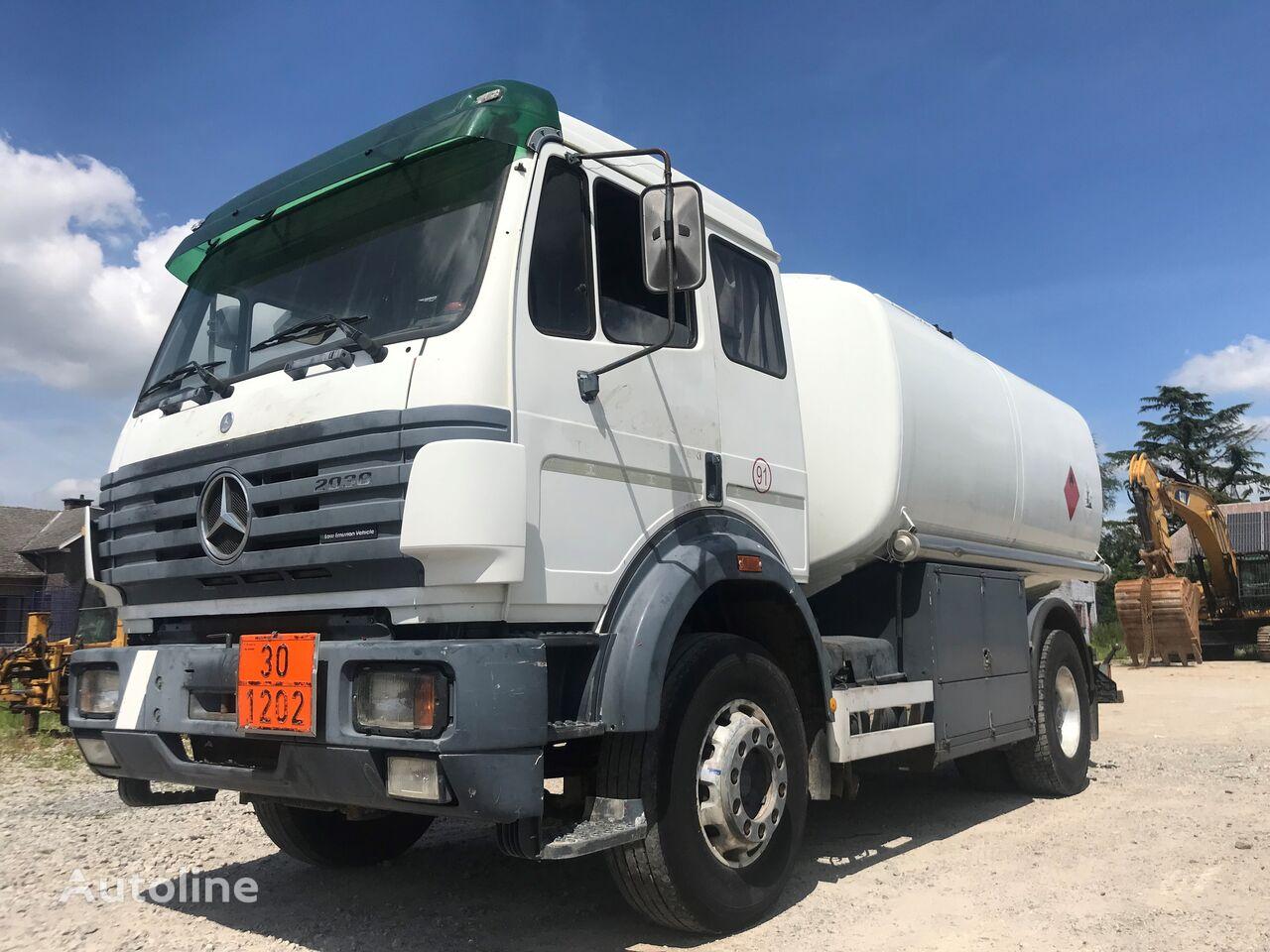 MERCEDES-BENZ SK 2038 - 4x2 ///ALL STEEL/// brandstoftruck