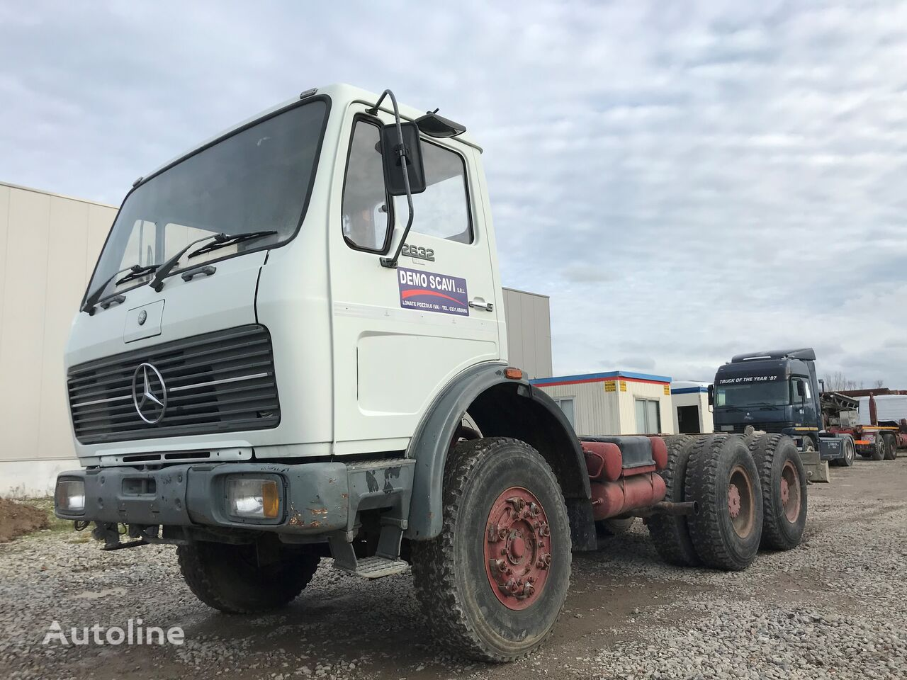 MERCEDES-BENZ 2632 - 6x4 chassis vrachtwagen