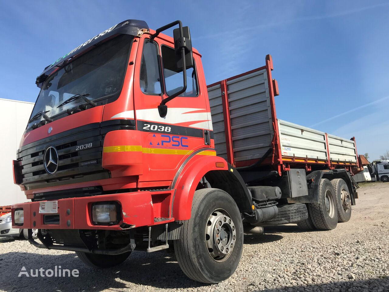 MERCEDES-BENZ SK 2038 - //ALL STEEL// kipper vrachtwagen