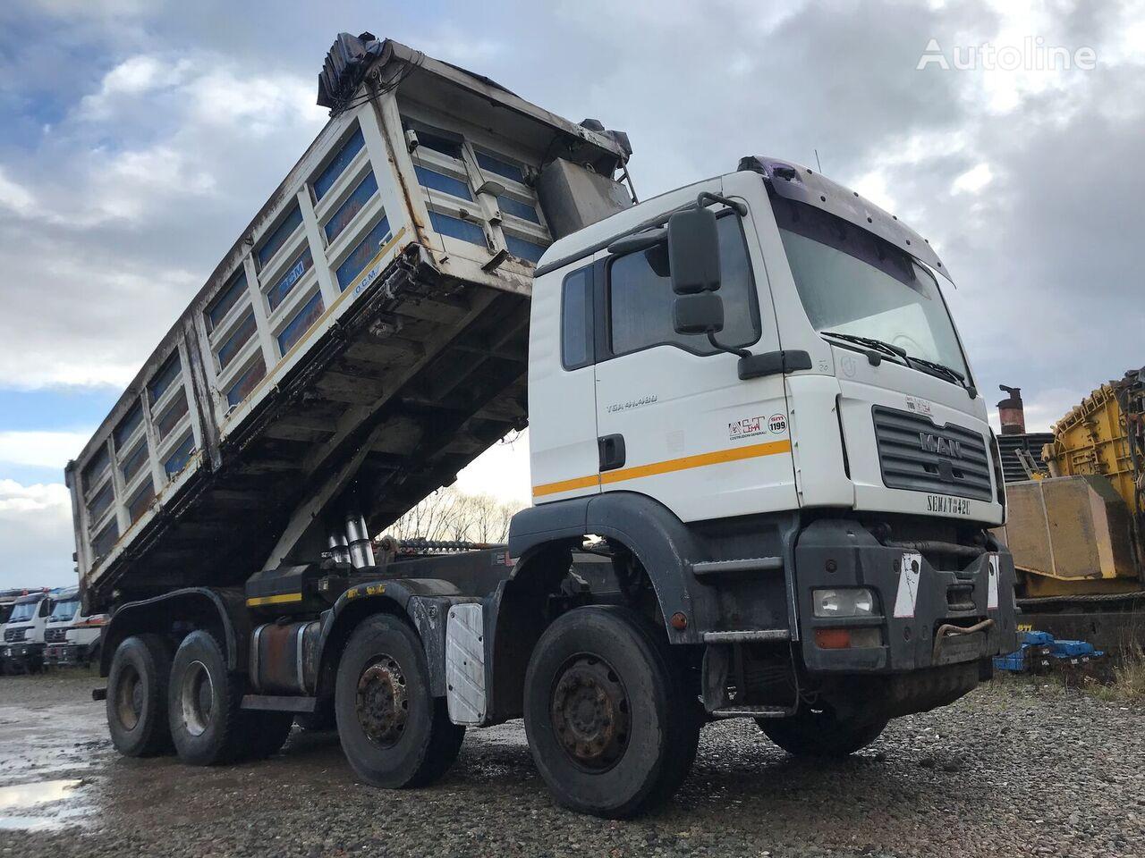 MAN TGA 41.480 kipper vrachtwagen